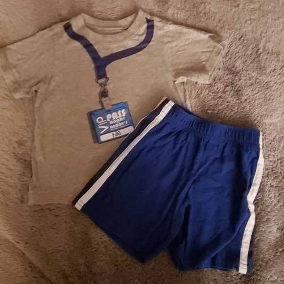 The Children's Place Other - Children's Graphic Tee/Shorts